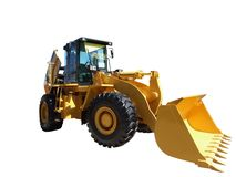 Earth-moving machine Stock Image
