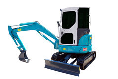 Earth moving machine Royalty Free Stock Photography
