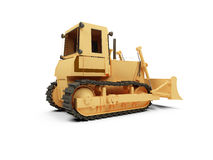 Earth moving machine Royalty Free Stock Photos