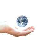 Earth in my hand Royalty Free Stock Image