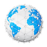 Earth net Royalty Free Stock Image