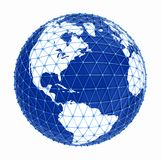Earth network Royalty Free Stock Photography