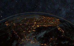 Earth night Royalty Free Stock Photo