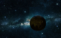 Earth night Royalty Free Stock Photography