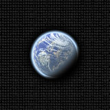 Earth numbers Stock Images