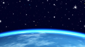 Earth from orbit Royalty Free Stock Photo