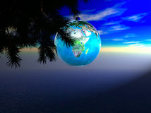 Earth Ornament Royalty Free Stock Photo