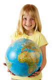 Earth in our Hands Royalty Free Stock Image