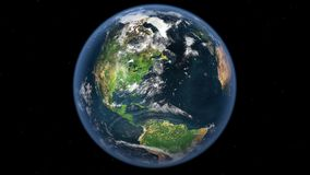 Earth from outer space Royalty Free Stock Images