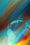 Earth paint Royalty Free Stock Photos