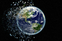 Earth particles - Earth texture by NASA.gov Stock Images