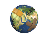 Earth patch Stock Photos