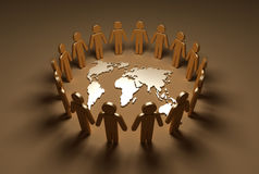 Earth_people Royalty Free Stock Photos
