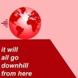 Earth pessimism Royalty Free Stock Image