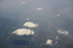 Earth Photo From high Above Ground Royalty Free Stock Photography