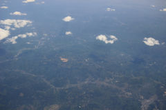 Earth Photo From high Above Ground Stock Photography
