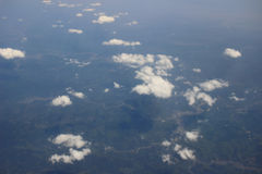 Earth Photo From high Above Ground Royalty Free Stock Photos