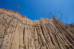 Earth pillar Stock Images