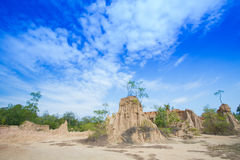 Earth pillar Royalty Free Stock Images