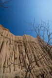 Earth pillar Royalty Free Stock Image