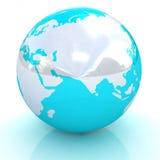 Earth planet Stock Photos