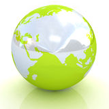 Earth planet Royalty Free Stock Photo