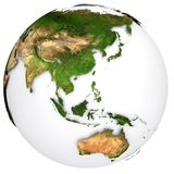 Earth planet Stock Photo