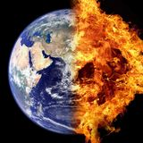 Earth, Planet, Atmosphere, Atmosphere Of Earth Stock Image