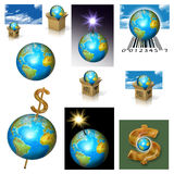 Earth (Planet) Business. Earth (Planet) Planeta Terra, Globe business Stock Photography