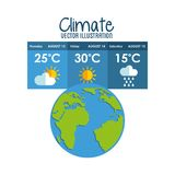 earth planet climate design Stock Photo