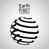 Earth planet design Royalty Free Stock Photography