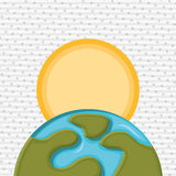Earth planet design Stock Photography