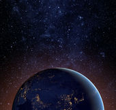 Earth planet. Stock Image