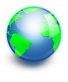 Earth planet globe icon. Stock Image