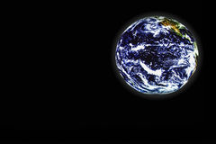 Earth. Planet Earth in the Space stock photo