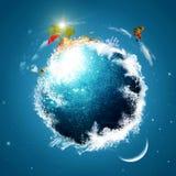 Earth planet royalty free illustration