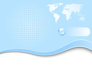Earth planet - web banner Royalty Free Stock Photos