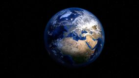 Earth, Planet, World, Globe, Space Royalty Free Stock Photos