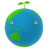 The earth and a plant Royalty Free Stock Photo