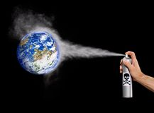 Earth pollution. Stock Photography