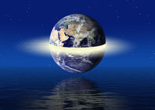 Earth power concept Royalty Free Stock Images