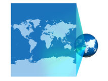 Earth projector Royalty Free Stock Photo