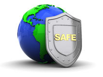 Earth protect Royalty Free Stock Image