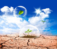 Earth protect Royalty Free Stock Photos