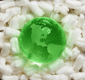 Earth protection, environment concept stock image