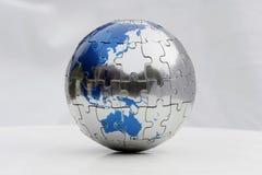 Earth Puzzle stock photo