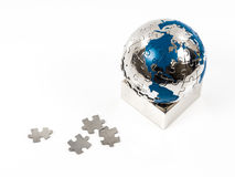 Earth puzzle Royalty Free Stock Photography