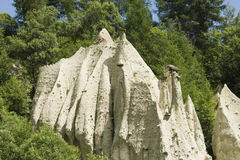 Free Earth Pyramids In Pusteria Valley Royalty Free Stock Photo - 5823715