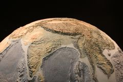 Earth replica at the science museum Royalty Free Stock Image