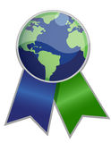 Earth Ribbon Royalty Free Stock Photo